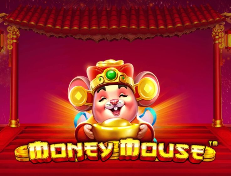 Logo for the Oriental-themed slot Money Mouse, whose free demo you can play for free on playamo.net
