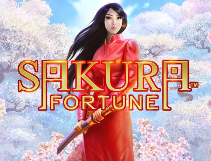Logo of the Sakura Fortune Oriental slot machine, which is available to play for free on playamo.net